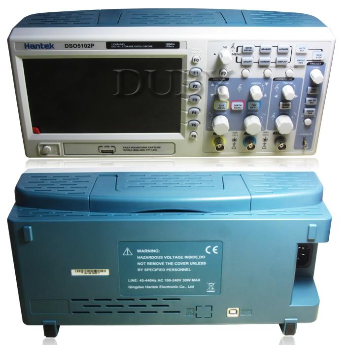Hantek Dso5102p Digital Storage Oscilloscope 100mhz 2channels 1gsa/s 7'' Tft Lcd Better Than Ads1102cal+