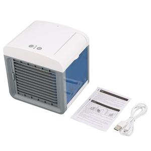 Convenient Air Cooler Fan Portable Digital Air Conditioner Humidifier Space Easy Cool Purifies Air Cooling Fan for Home Office(China)