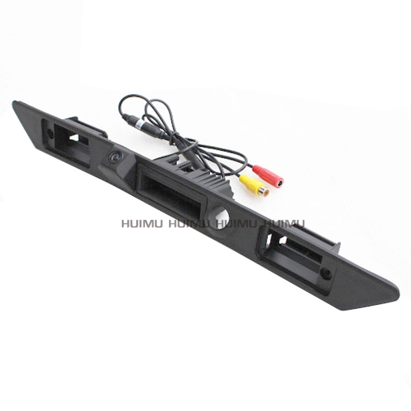 for sony CCD Car Trunk Handle Switch Reverse Backup Camera for Audi A6L Q7 A4 A3 A8L A8 rear view camera Anti-water camera