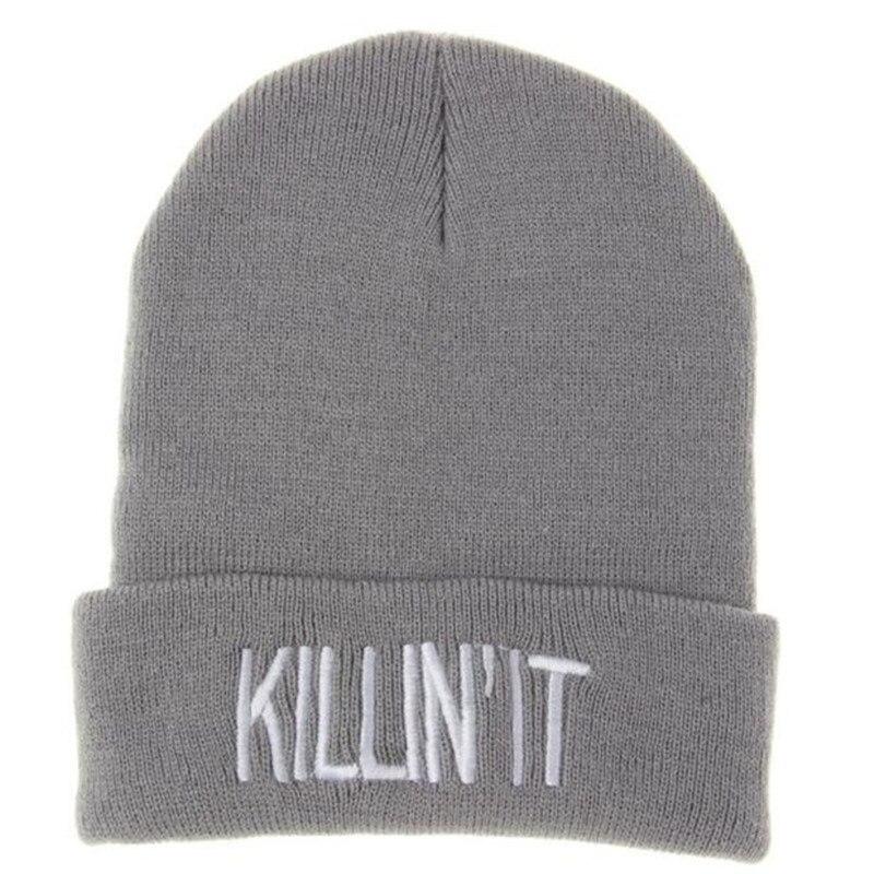 Mooistar #4028 Unisex Women Men Hat Warm Winter Knit Cap Hip-hop Beanie Hats