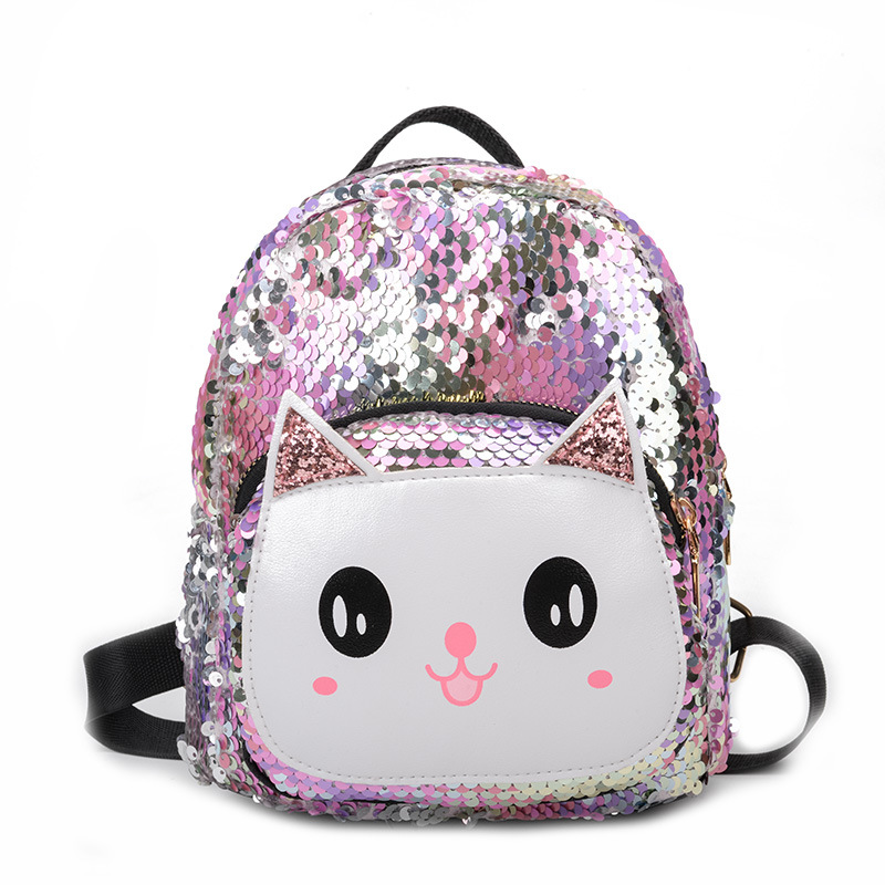 2019 New 3D Sequin Kids Bag Holographic Backpack For Children Laser School Bags Backpack For Boy Bags For Girls Mochila Escolar