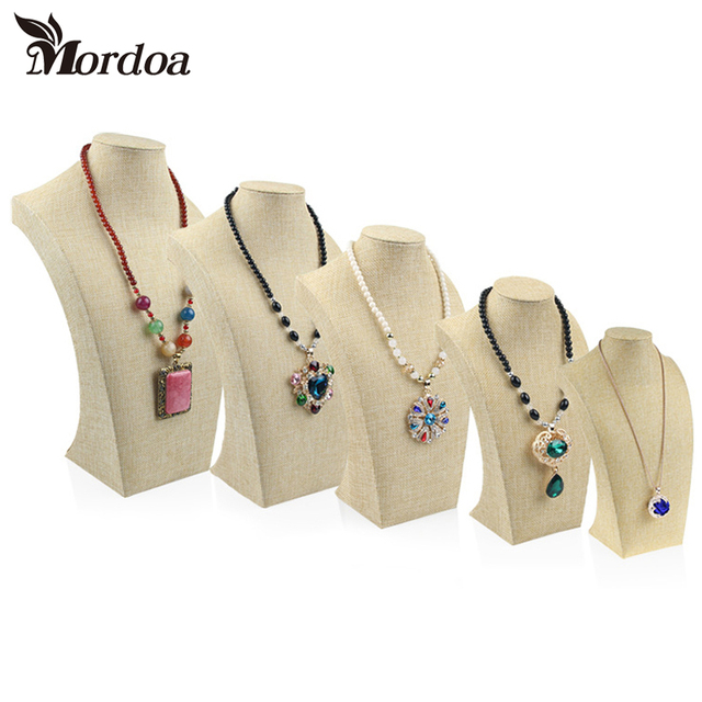 Mordoa linen Jewelry Display Jewelry Organizer Jewelry Stand