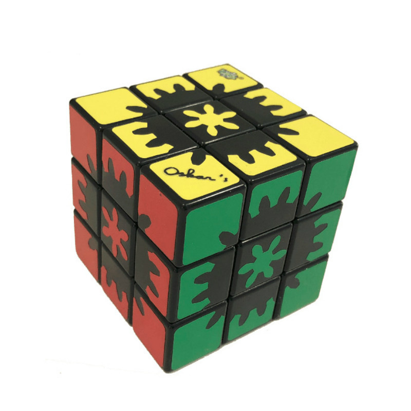 LANLAN Magic Gear Cube 3x3x3 Puzzle Cube jouets éducatifs avec équipement intégré pour cadeau