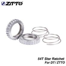ZTTO 54 T Ratchet SL אופניים רכזת שירות ערכת כוכב מחגר 54 שיניים עבור DT 18T שוויצרי 36T מחגר 60T MTB כביש רכזת הילוך אופני חלק