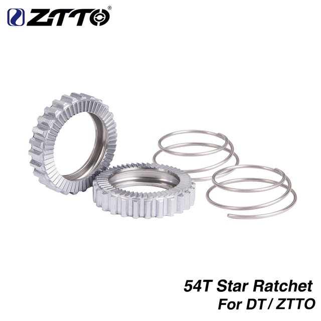 ZTTO 54T Ratchet SL Bicycle Hub Service Kit Star Ratchet 54 TEETH For DT 18T Swiss 36T Ratchet 60T MTB Road Hub Gear Bike Part