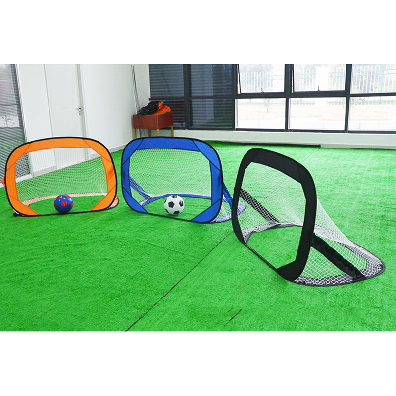 Football Goal Game Net Portable Folding Soccer Goal Door Match Sport Outdoor Training Football Net Gate With Bag For Men Kids folding soccer goal portable child pop up soccer goals for kids sports training backyard playground outdoor sports high quality