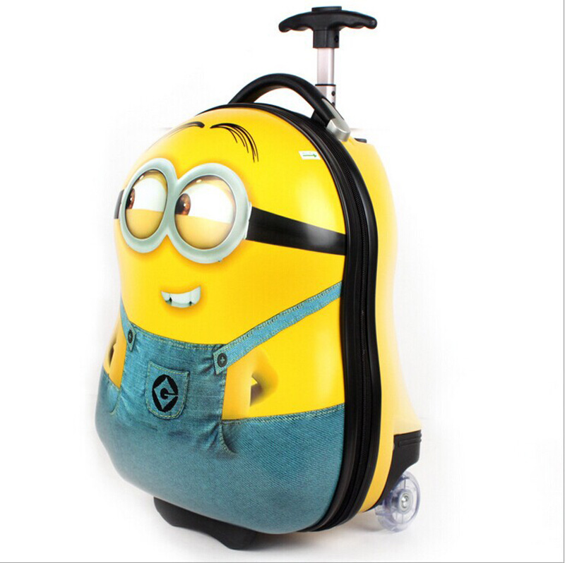 Despicable Me School Bag 17inch Abs Pc 3d Cartoon Minion