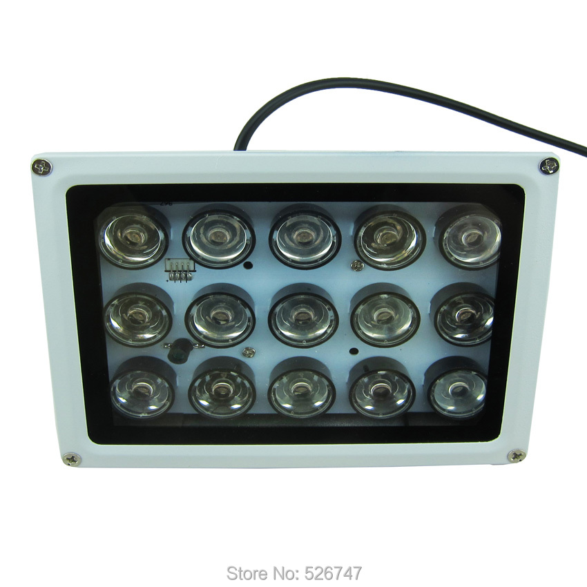 Night vision 8 LED Array IR Infrared Illuminator Lamp SAE100-IR8ZL-3