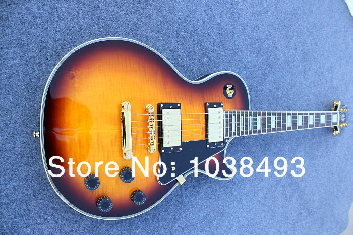 Custom manufacturer to produce the best Lp electric guitar can be customized EMS free shipping to solve difficult cases