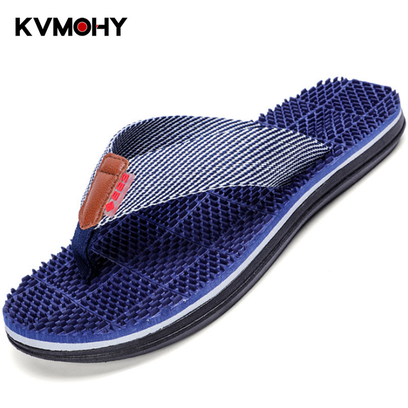 Man Shoes Flip Flops Men Summer New Style Fashion EVA Slippers  Thick Bottom Massage Beach Casual SlippersMan Shoes Flip Flops Men Summer New Style Fashion EVA Slippers  Thick Bottom Massage Beach Casual Slippers