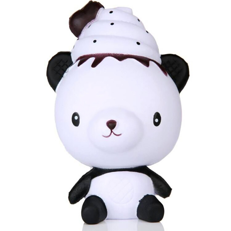 1pc Exquisite Fun Q Poo Panda Scented Squishy Charm Slow Rising 13cm Simulation Toy  Toy For Kids For Children A1