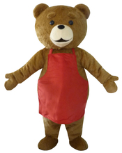 high quality Teddy Bear Mascot Costume Lovely