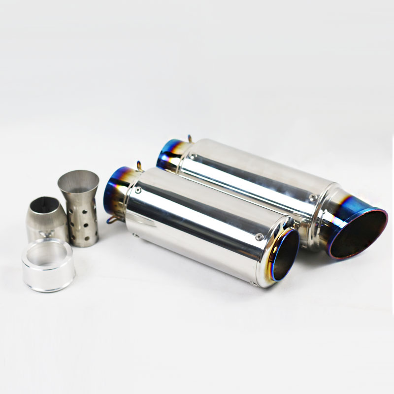 Motorcycle SC Laser GP Escape Exhaust Muffler Pipe 51mm 61mm Inlet DB Killer Escape Moto KTM