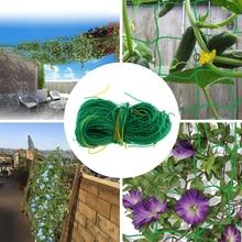 Garden Climbing Net Green net Trellis Netting Support Bean Plant Grow Fence Nylon Durable new fashion