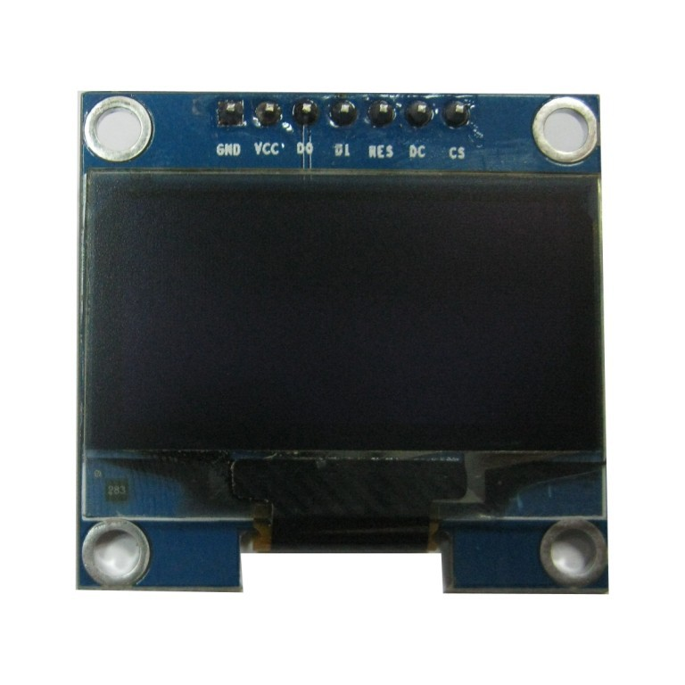 4pcs 0.96 128x64 White Light OLED Display Module Support SPI IIC