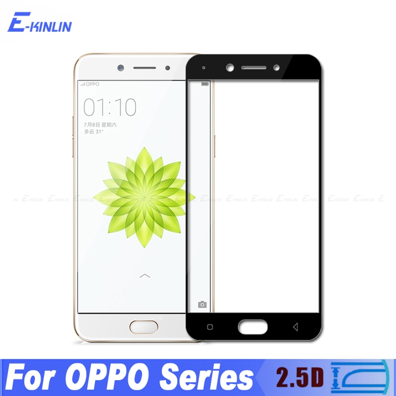0.3mm 2.5D Full Cover Tempered Glass For OPPO A30 A37 A39 A57 A59S A59 A71 A73 A77 A79 A83 Screen Protector Protective Film