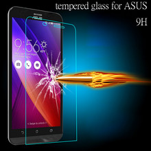 Tempered Glass screen protector Flim 2.5D Case for ASUS Zenfone2/3 Max Laser 5.0 5.5 ZenFone 4 5 6 Go Deluxe ZS550KL ZS570kl(China)