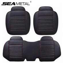 Автокресло Обложки Универсальный из искусственной кожи сиденья Four Seasons подушки автомобилей охватывает авто аксессуары для интерьера Подушка для стула комплект