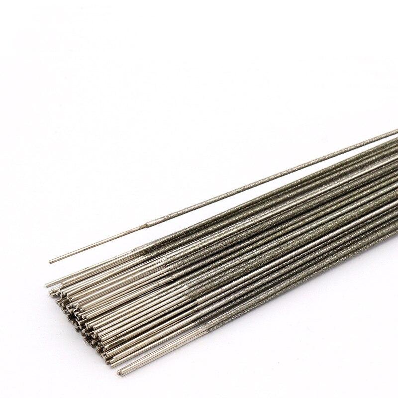 4pcs 400mm Extra Length Diamond Wire Saw Blade 1.0mm 1.5mm 2.0mm Diameter Jade Amber Sapphire Metal Cutting Cutter Tools