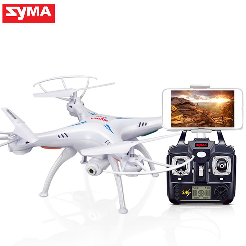 SYMA X5SW Drone with WiFi Camera Real-time Transmit FPV Quadcopter (X5C Upgrade) HD Camera Dron 4CH RC Helicopter Remote Control ...
