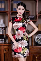 Free Shipping Vestidos Vintage Qipao Dress Cheongsam Oriental Dress Chinese Traditional Clothing