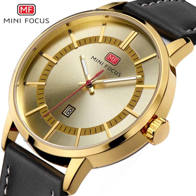 Aliexpress.com : Buy Luxury Men Watch Leather Wrist Watch ...