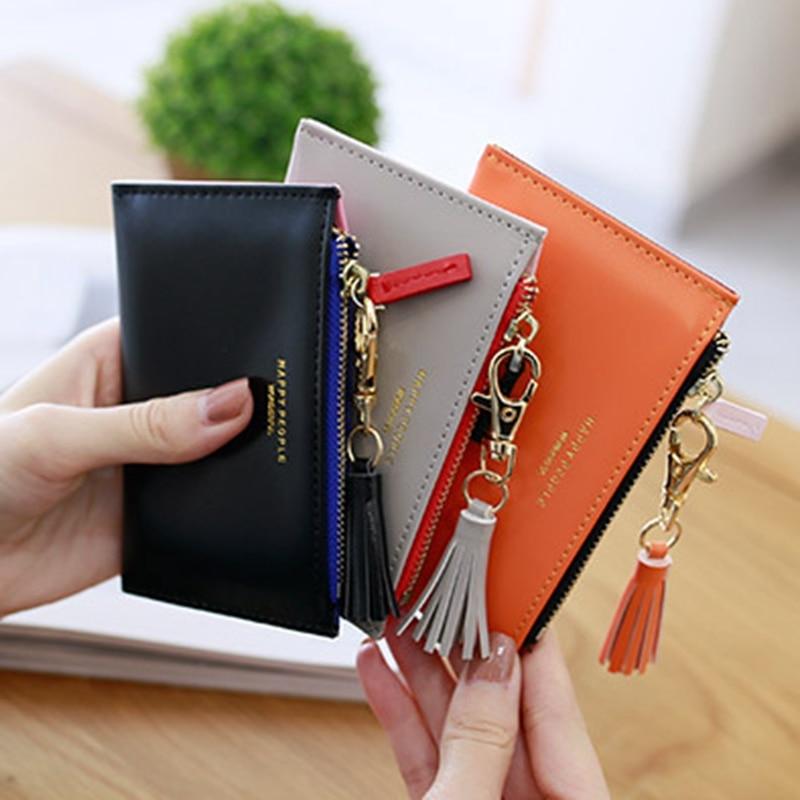 3a0f32c2eb79 Кошелек с кисточками для монет, держатель для карт, сумка для денег, модный  кошелек для женщин, женские европейские и американские кошельки .