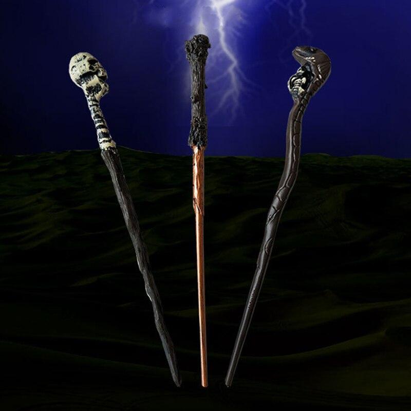 Harri Magic Wand Toy Voldemort Ron Hermione Dumbledore Luna Potter Magic Wand Hogwarts Action Train Ticket Kid Child Toys