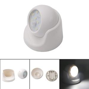 Image 5 - Coquimbo 9 LEDS Motion Sensor Night Light 360 Degree Rotation Portable Night Lamp Auto IR Infrared Sensor Wall Lamp For Corridor