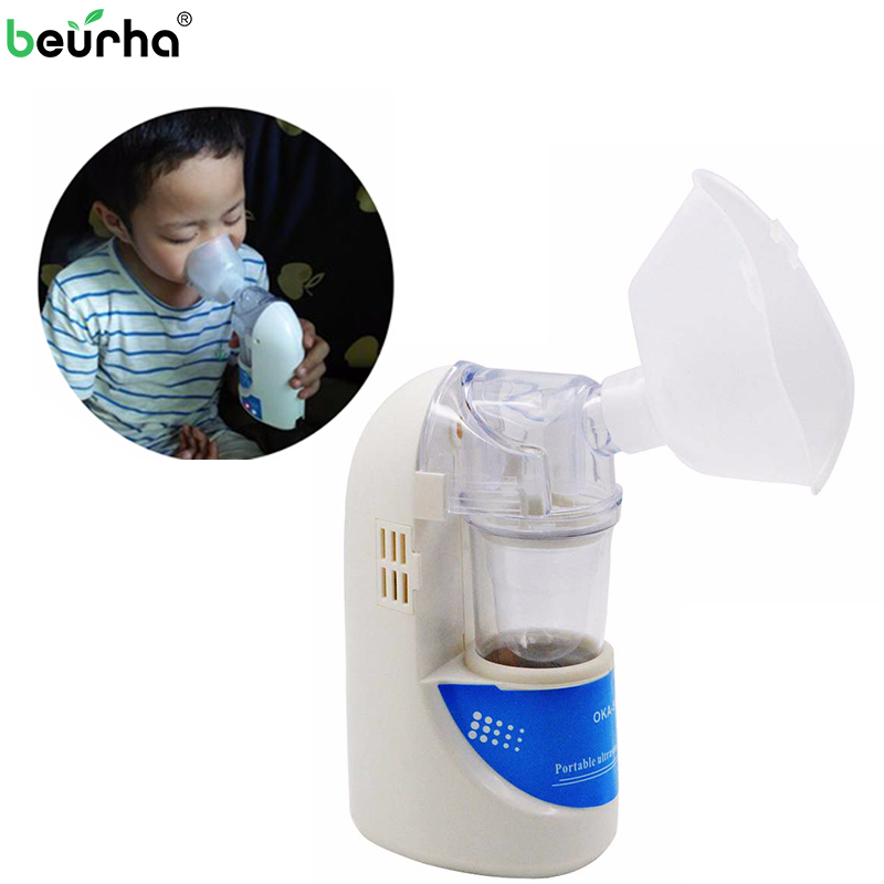 Family Handheld Asthma Nebulizer Inhaler Portable children Adult Inhale Automizer Mechine Medical Health Ultrasonic Nebulizer yuwell baby ultrasonic nebulizer adult vporizer portable health household child cough asthma medical equipment humidifier nm211c