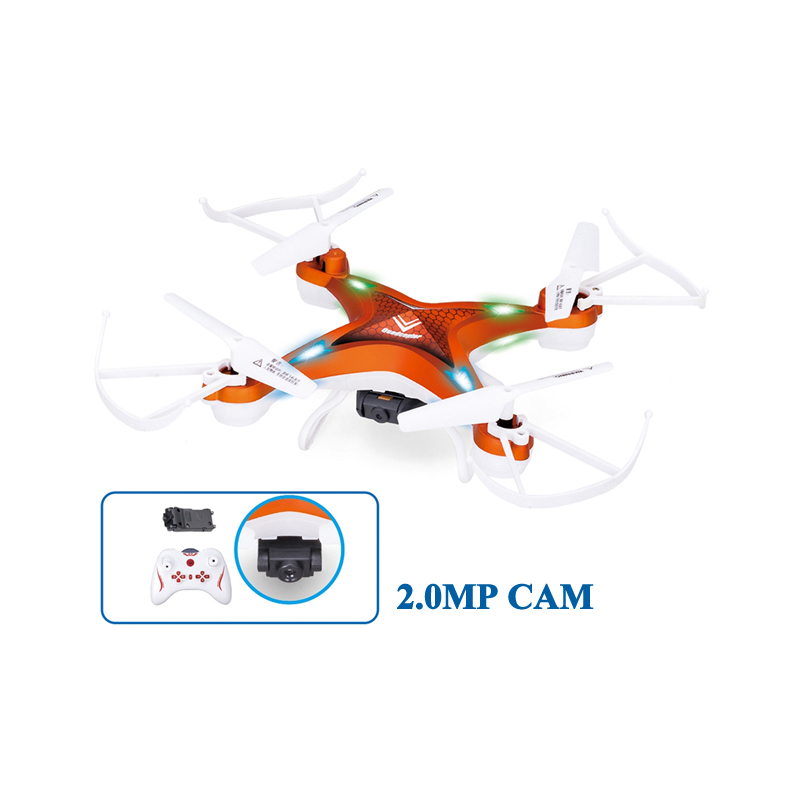 Lishi L6053 Mini Drone Headless Mode with 2 0MP Camera Standard Version 2 4GHz 4CH 6