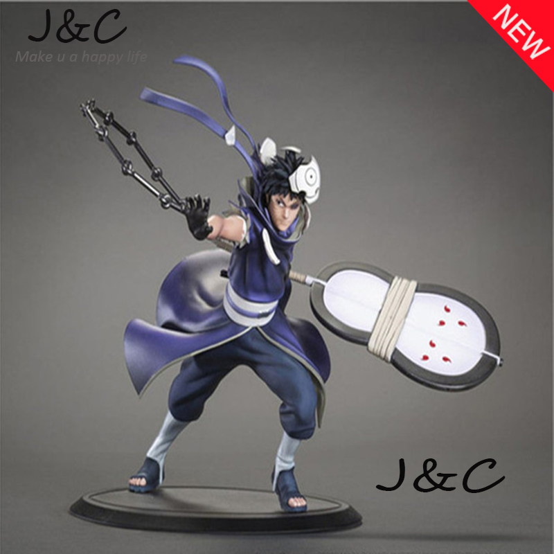 Free Shipping Japanese Anime Cartoon Naruto 1PCS 18cm Uchiha Obito Action Figure toys Christmas toy цена