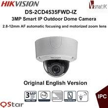 Hikvision Original English Version DS-2CD4535FWD-IZ 3MP 2.8-12mm Smart IP Dome Security CCTV Network Camera CCTV Camera