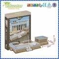 Всемирно известный архитектура 3d-головоломка Buliding модель Anitkabir ( турция ) поделки