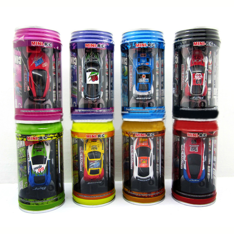 multicolor coke can mini speed rc remote control racing car vehicle gift good qualitychina