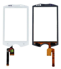 10pieces/lot Free shipping White/Black color Original Digitizer Touch Screen Glass parts For Sony Ericsson Walkman WT19i WT19