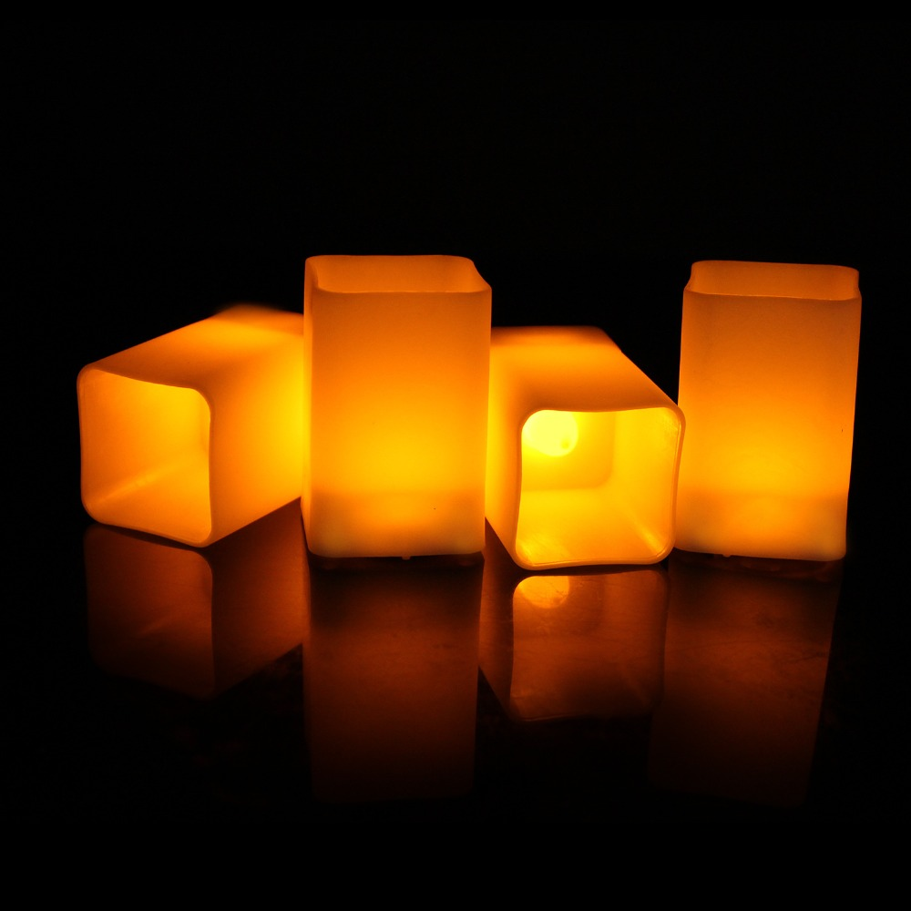 8920578501_1650456754  12pcs Flickering LED Candles Sq. Pillar Faux Candle Electrical Tealight for Residence Decor Wedding ceremony Events HTB1ZHCEj67nBKNjSZLeq6zxCFXaR