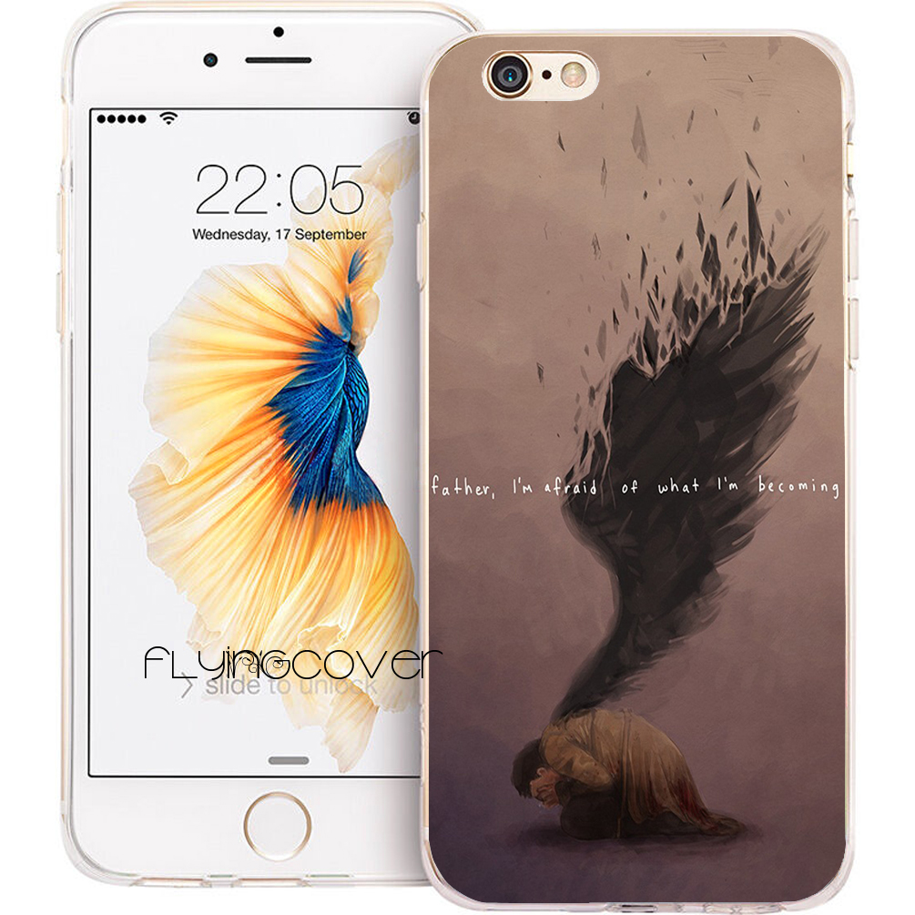 Coque Supernatural Quotes Clear Soft Silicone Phone Cases for iPhone XS Max XR X 7 8 6 6S Plus 5S 5 SE 5C 4S 4 iPod Touch 6 5. image