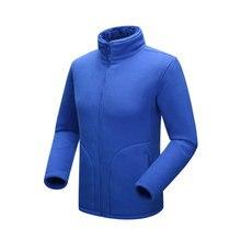 2016 Autumn Winter New Outdoor Fleece Coats Men Women Lovers Thermal Polar Fleece Jackets 6 Colors