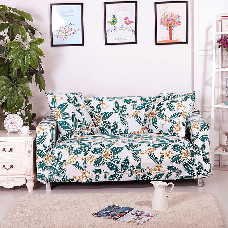 Aliexpress : Buy Cheap Couch Cover With Flowers Pattren 100% Polyester  Fabric Sofa Cover,stretch Furniture Covers,sofa Covers Extending Universal  From