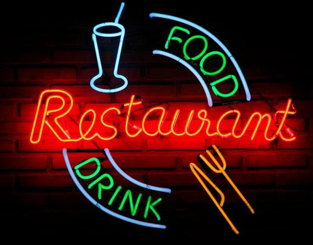 Custom Food Drink Restaurant Glass Neon Light Sign Beer Bar