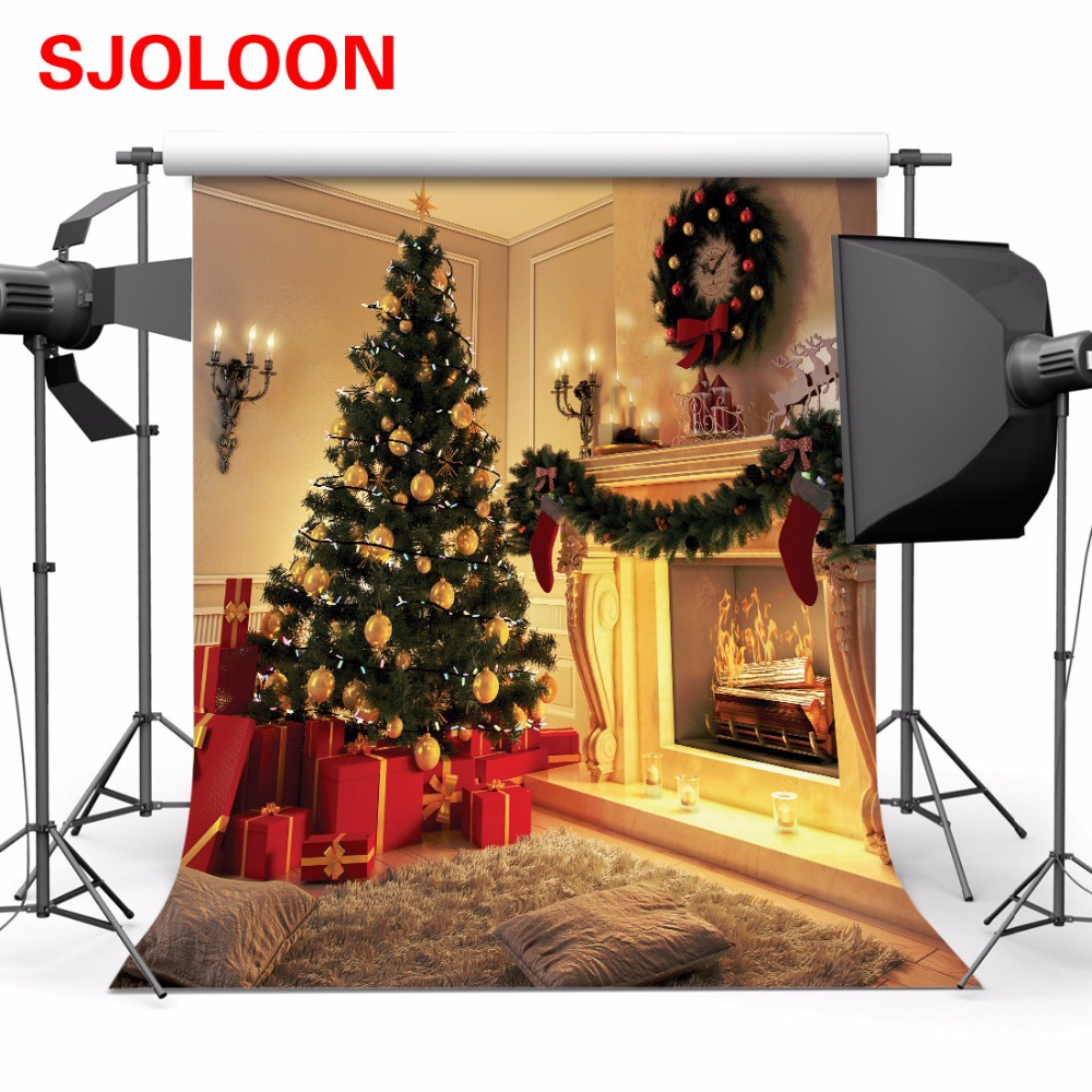 New Christmas Backdrop Photography 10x10ft Photo Backdrop