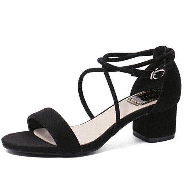 Новая летняя 2016 удобные коренастый пятки женщины сандалии моды открытый носок chaussure femme кросс-привязанные обувь женщина бесплатная доставка