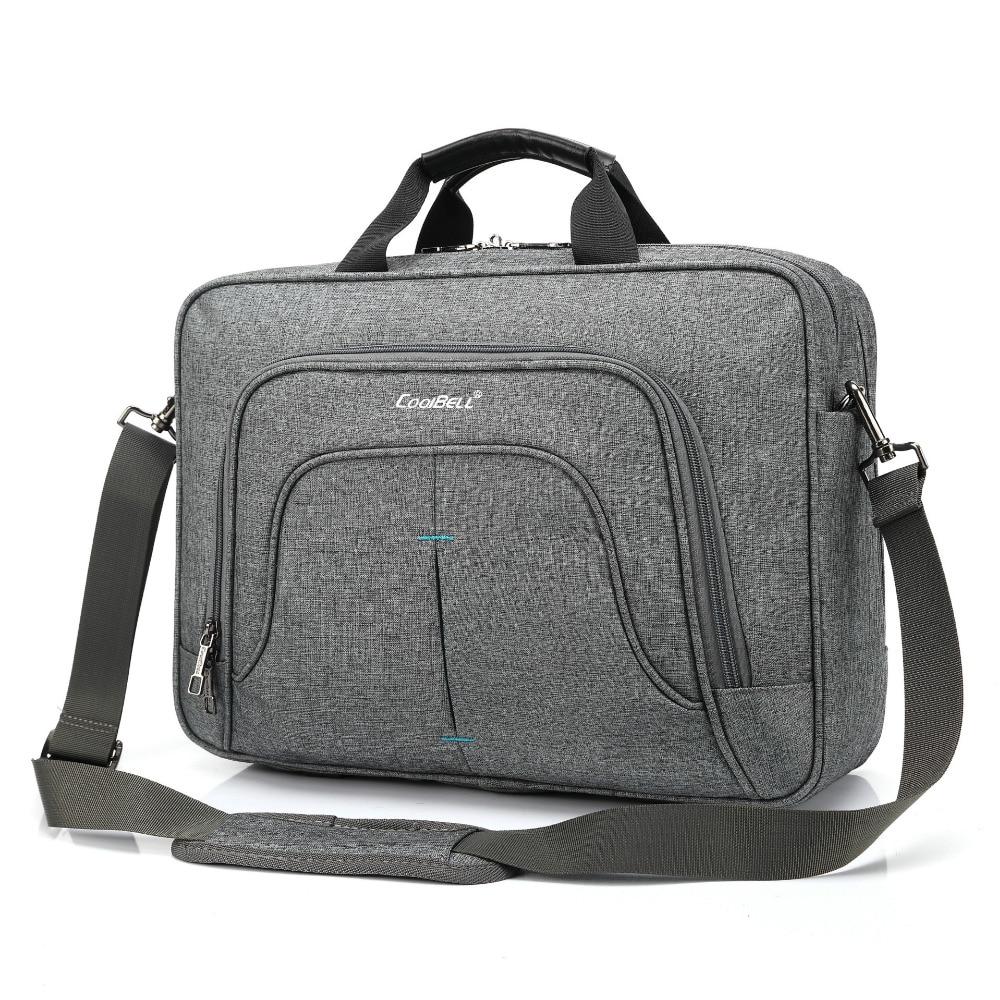 Coolbell Pour Étudiant De Mode Épaule Sacs Pouces Main Sac 15 Nylon Portable Ordinateur À Black grey Dos Étanche 6 4wW4zBqr6g
