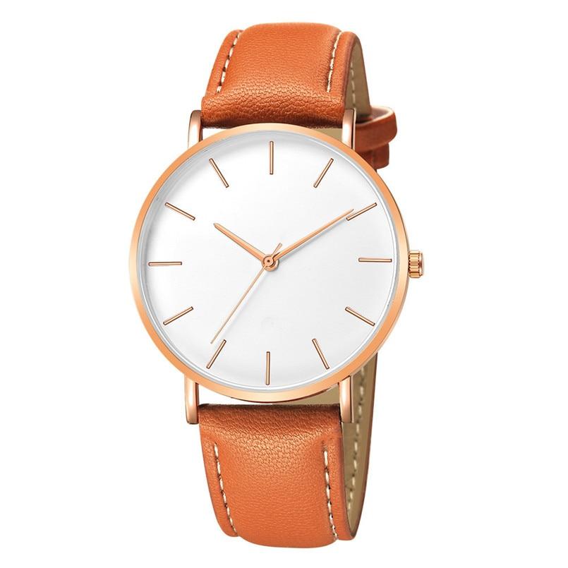 Audacious Geneva Fashion Men Date Alloy Case Synthetic Leather Analog Quartz Sport Watch Reloj Hombre Acero Inoxidable Montre Homme Cuir Watches