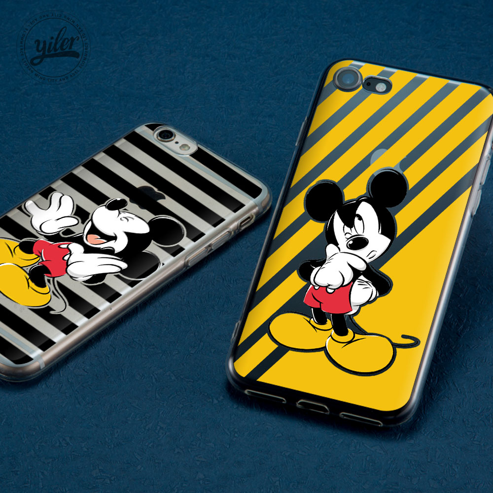 Mouse for Coque iPhone 8 Case for Funda iPhone XS Max Case for  Apple iPhone 6 Case for iPhone XR XS X 5 5S SE 6 6S 7 8 Plus 8 X