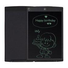 """NEWYES Mini tableta de escritura LCD de 12 """", negra, se puede usar como pizarra blanca, Bloc de anuncios, tablero de notas"""