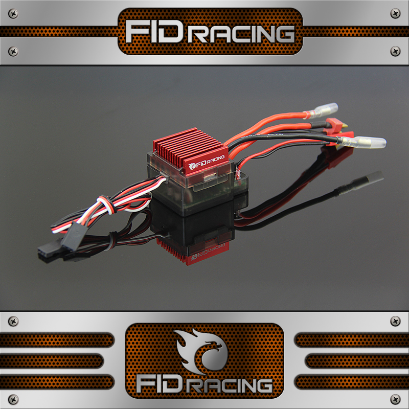 EL016s ESC for FID Electric starter losi 5ive t Baja 5b billet rear hub carriers for losi 5ive t