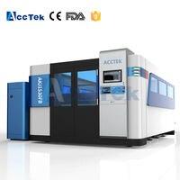 Big power 1530 1000W 2000W 3000W fiber cnc metal laser cutter price, 1000W high precise metal laser cutting machine price