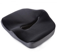 Comfortable Corrects Postures 3D Mesh Fabric Wheelchair Sofa Chair Outdoor Coccyx Orthopedic Memory Foam Car Seat Cushion